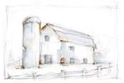 Barnyard Pencil Sketch II