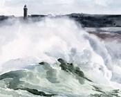 Lighthouse Waves I