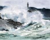 Lighthouse Waves II