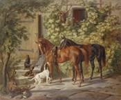 Horses at the Porch, 1843