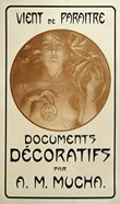 Advertisement for the Monograph Decorative Documents, 1902