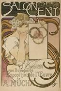 Salon des Cent, Paris, France, 1897