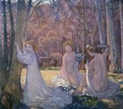 Figures in Spring Landscape (Sacred Grove), 1897