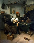 The Idlers, c1660