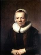 Portrait of Baartje Martens-Doomer, c1640