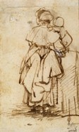 Woman with a Child on Her Lap, 1640s