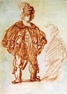 Standing Actor, 1630s
