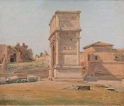 The Arch of Titus in Rome, 1839