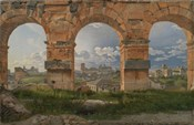View through Three Arches of the Third Storey of the Colosseum, 1815