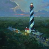 St. Augustine Lighthouse Aloft