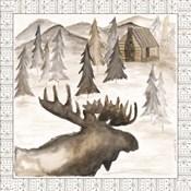 Moose w/ Border
