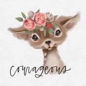 Courageous Deer