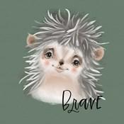 Brave Hedgehog