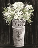Punched Tin Floral I