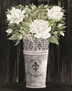 Punched Tin Floral III