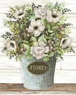 Flores Galvanized Bucket