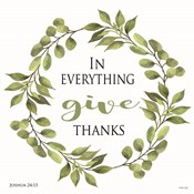 In Everything Give Thanks Wreath
