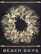 Beach Days Shell Wreath