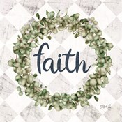 Faith Eucalyptus Wreath