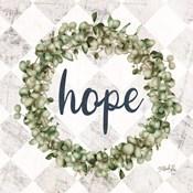 Hope Eucalyptus Wreath
