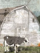 Barn with Cow