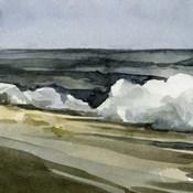 Loose Watercolor Waves IV
