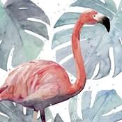 Flamingo Splash I