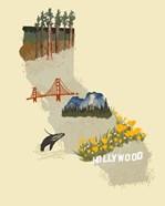 Illustrated State-California