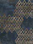 Deco Pattern in Blue I