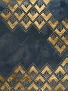 Deco Pattern in Blue III