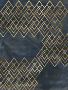 Deco Pattern in Blue IV