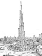 Dubai in Black & White II