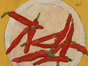 Peppers on a Plate III