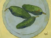 Peppers on a Plate IV