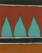 Rust & Teal Patterns II