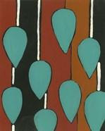 Rust & Teal Patterns V