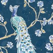Peacock Allegory III Blue v2