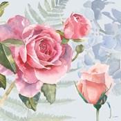 Boho Bouquet V Blue