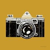 Vintage Camera Yellow