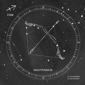Night Sky Sagittarius v2