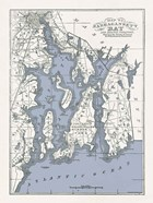 Narragansett Bay Map II