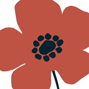 Pop Art Floral IV Retro
