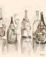 Sepia Champagne Reflections I