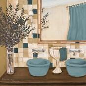 Blue Zen Bath I