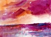 Reflection of a Crimson Sky