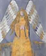 Gold and Silver Angel