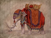 Ceremonial Elephants I