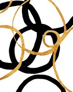 Black and Gold Stroke II