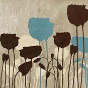 Floral Simplicity IV (blue)