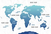 Continental Map I